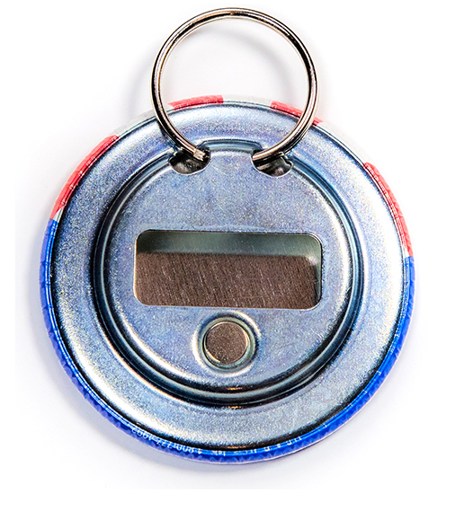 Bottle Opener Keyring Back